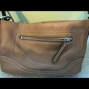 Coach Honey Pebble Leather Shoulder Bag